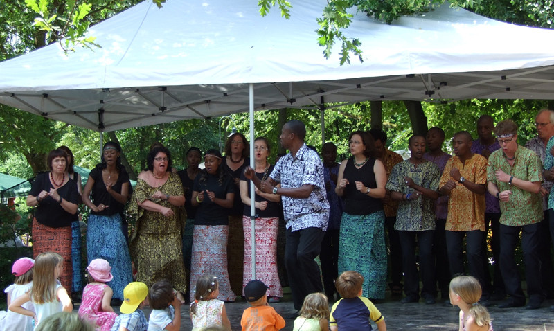 Lesedi Show Choir - Ladenburg 05.06.2011