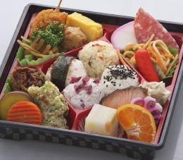 てまり弁当900円税込(商品コードON-4)見た目もきれいなお弁当