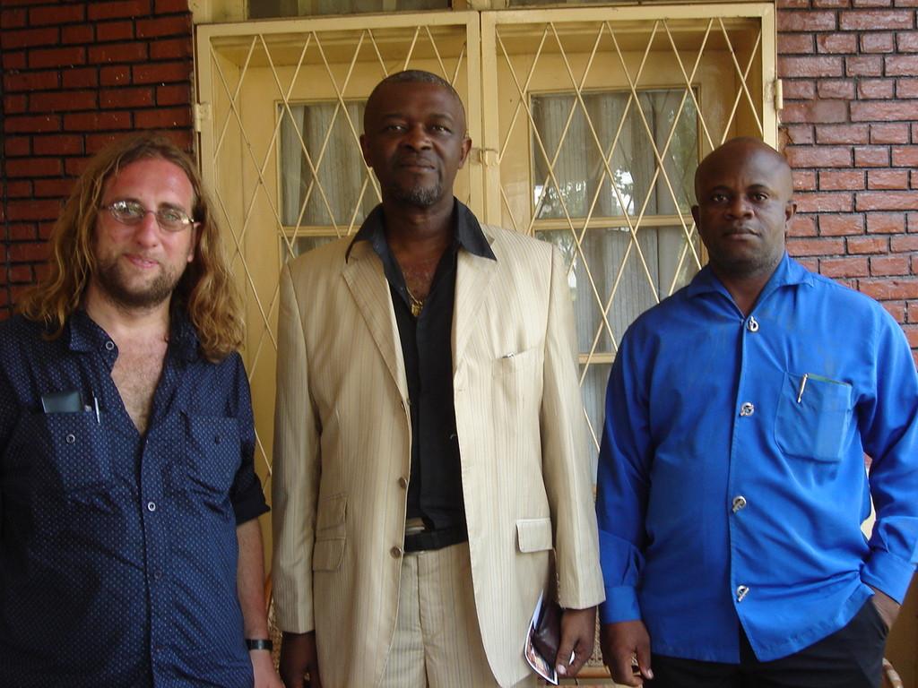 con Roland Lumumba e Jean Musa