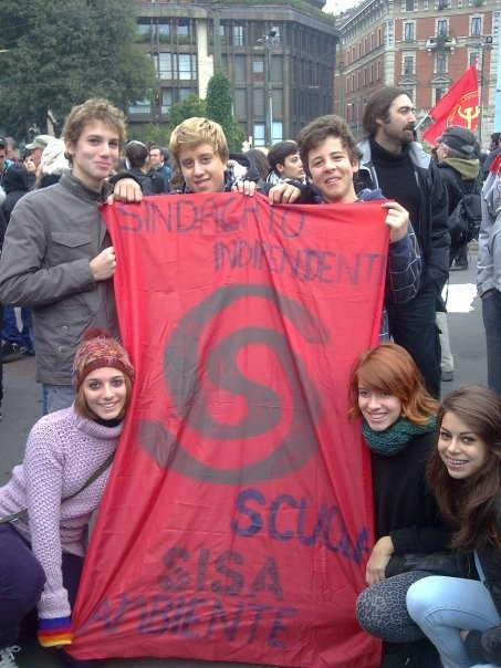 Milano 23 ottobre la manifestazione del SISA Studenti