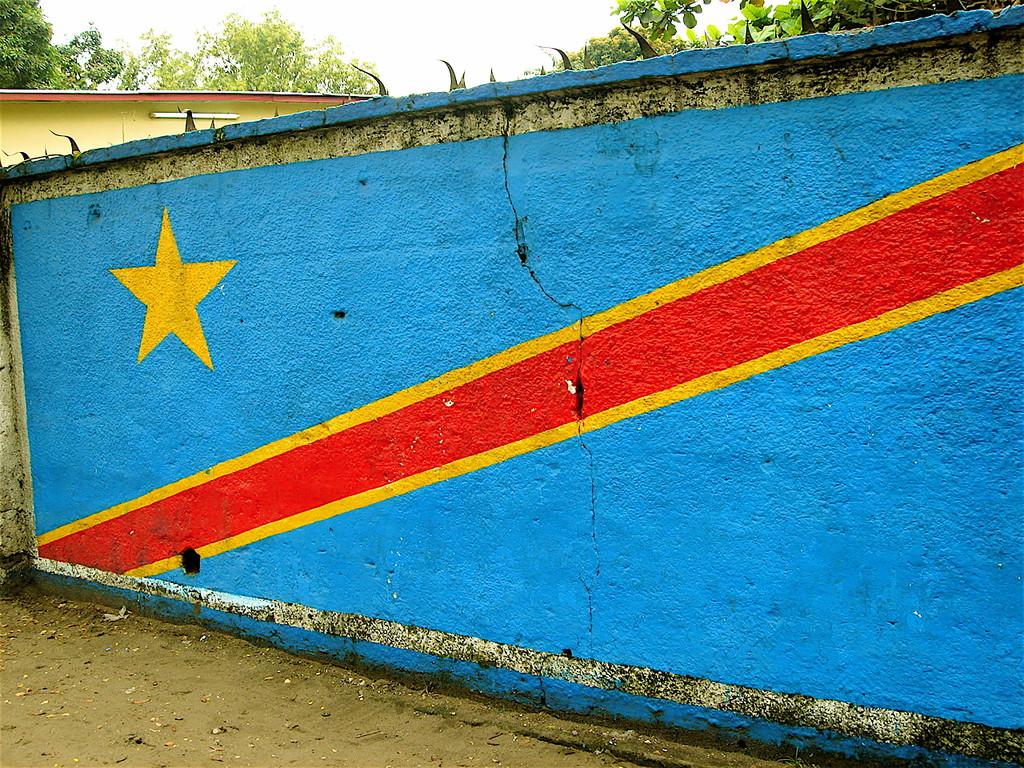 bandiera della R. D. Congo