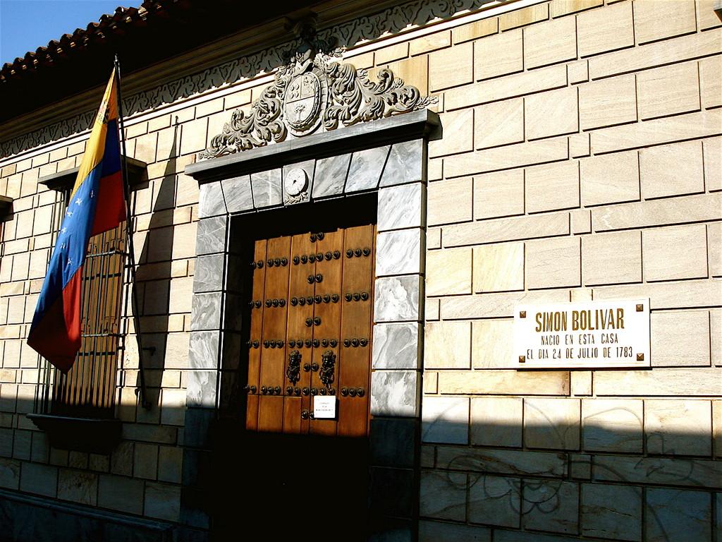 la casa di Bolivar