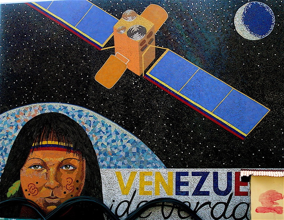 vola un satellite venezuelano