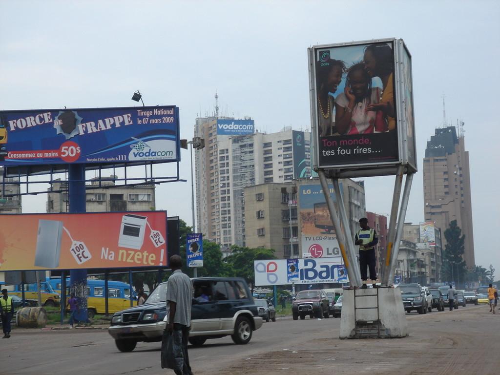 il centro di Kinshasa