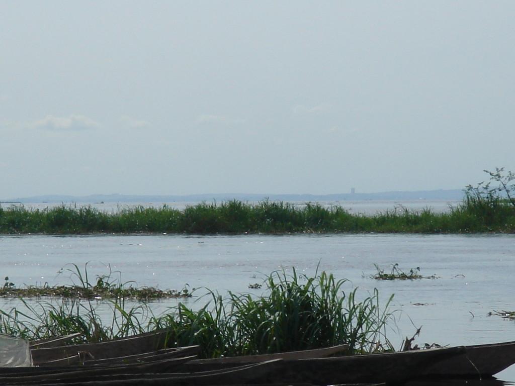 piroghe sul Congo