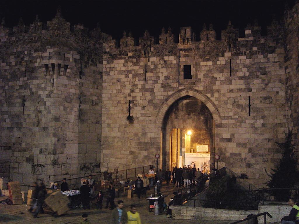 Gerusalemme - la porta di Damasco