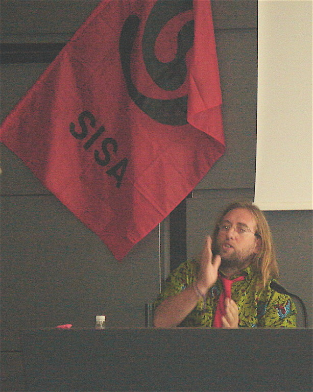 Roma 24 ottobre intervento di Davide Rossi al convegno dedicato alla pedagogia libertaria