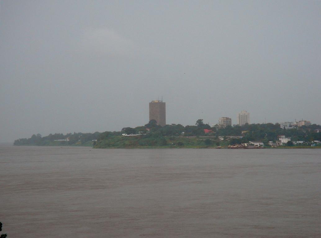 il fiume Congo e Kinshasa