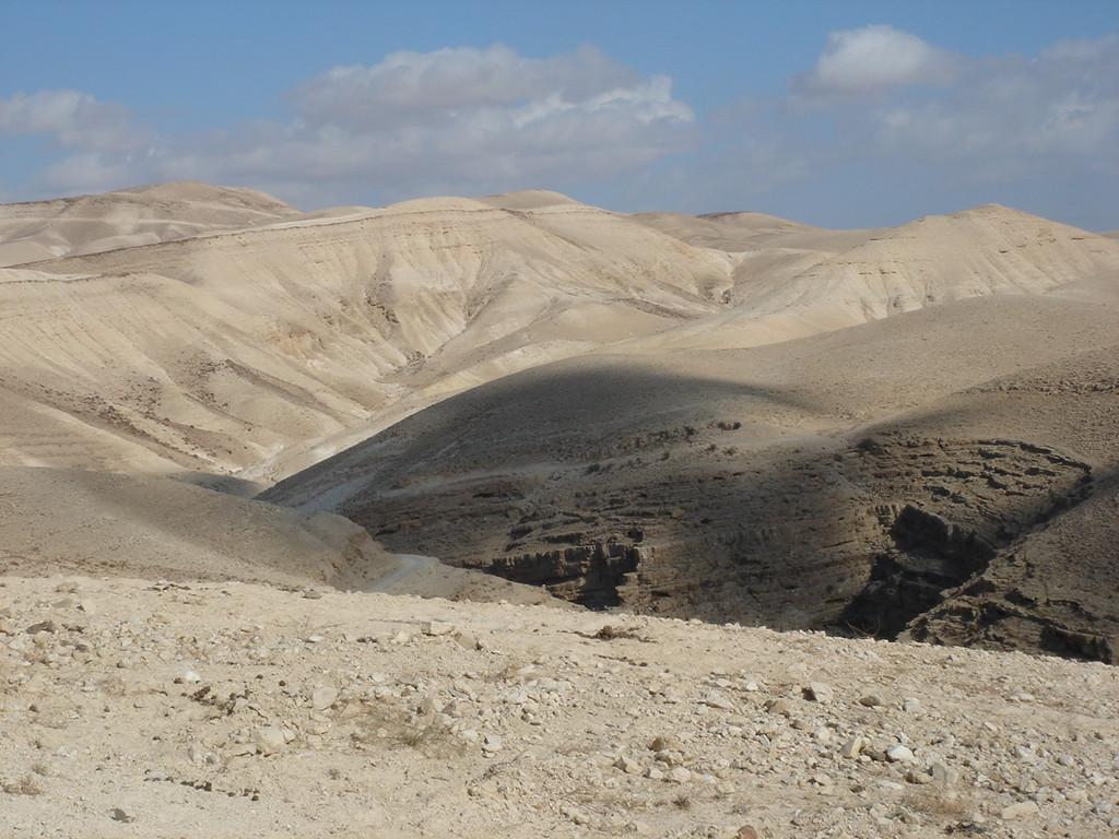 il deserto in Cisgiordania