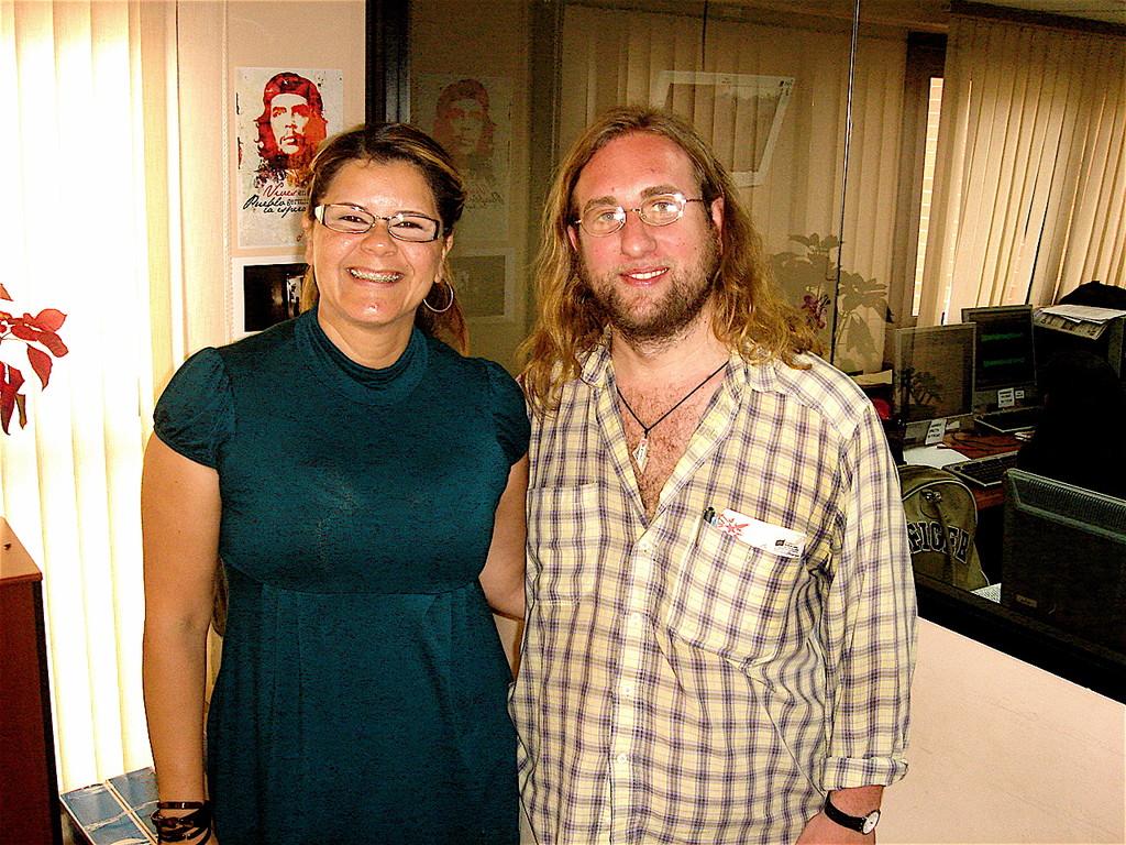 Mafalda Valdez Nieves con Davide Rossi