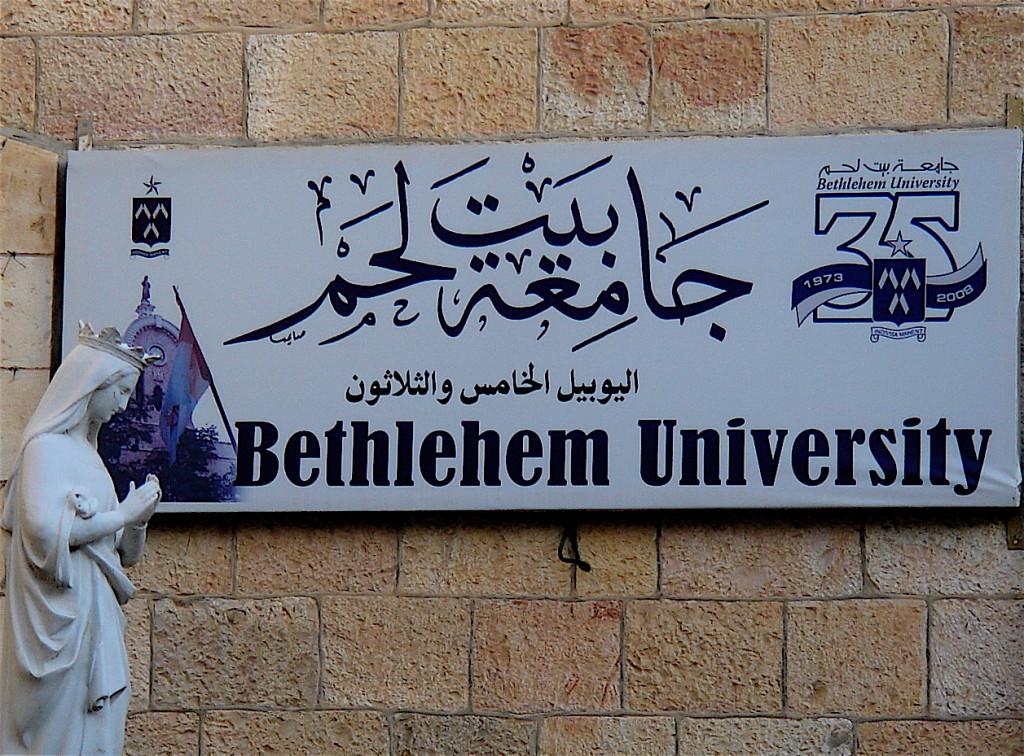 l'Università di Betlemme