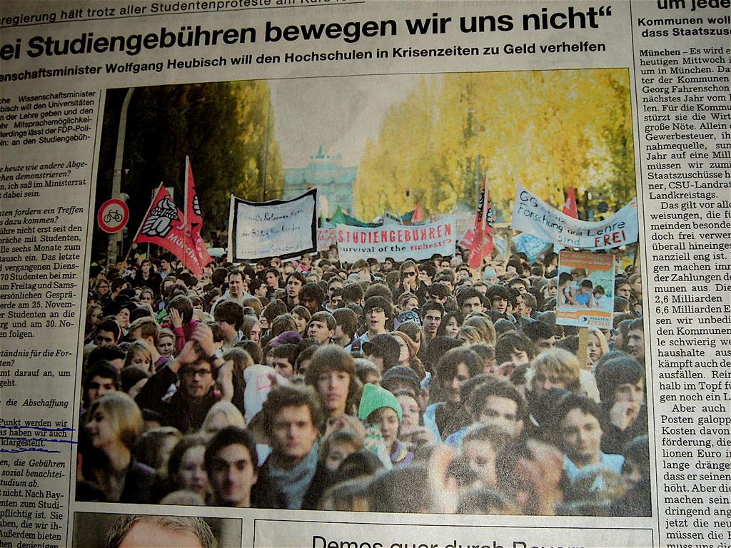 sciopero a Berlino