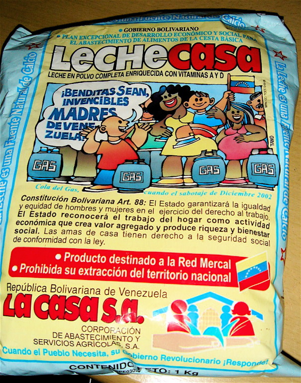 il latte dei bambini venezuelani