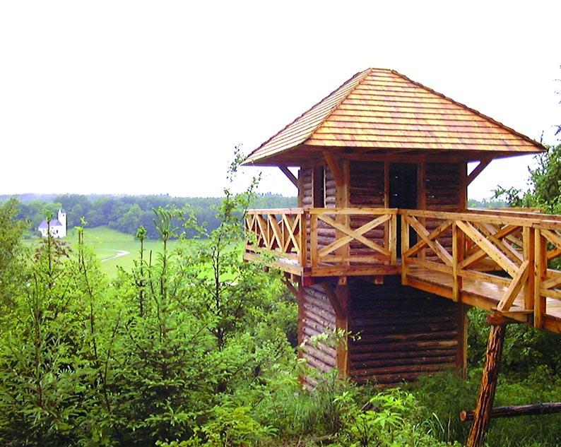 """Römerturm"", Walderlebnispfad Denklingen"