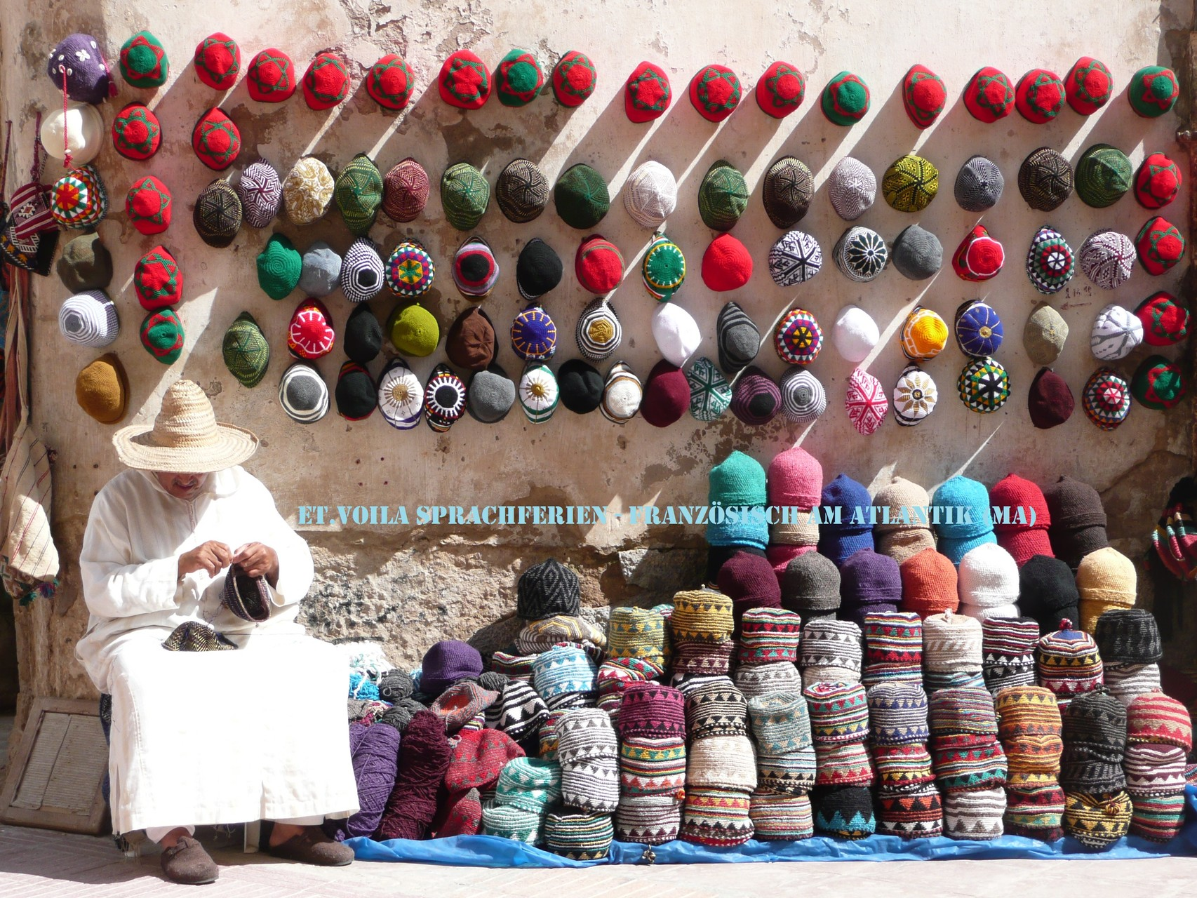 Essaouira, Strickmützen