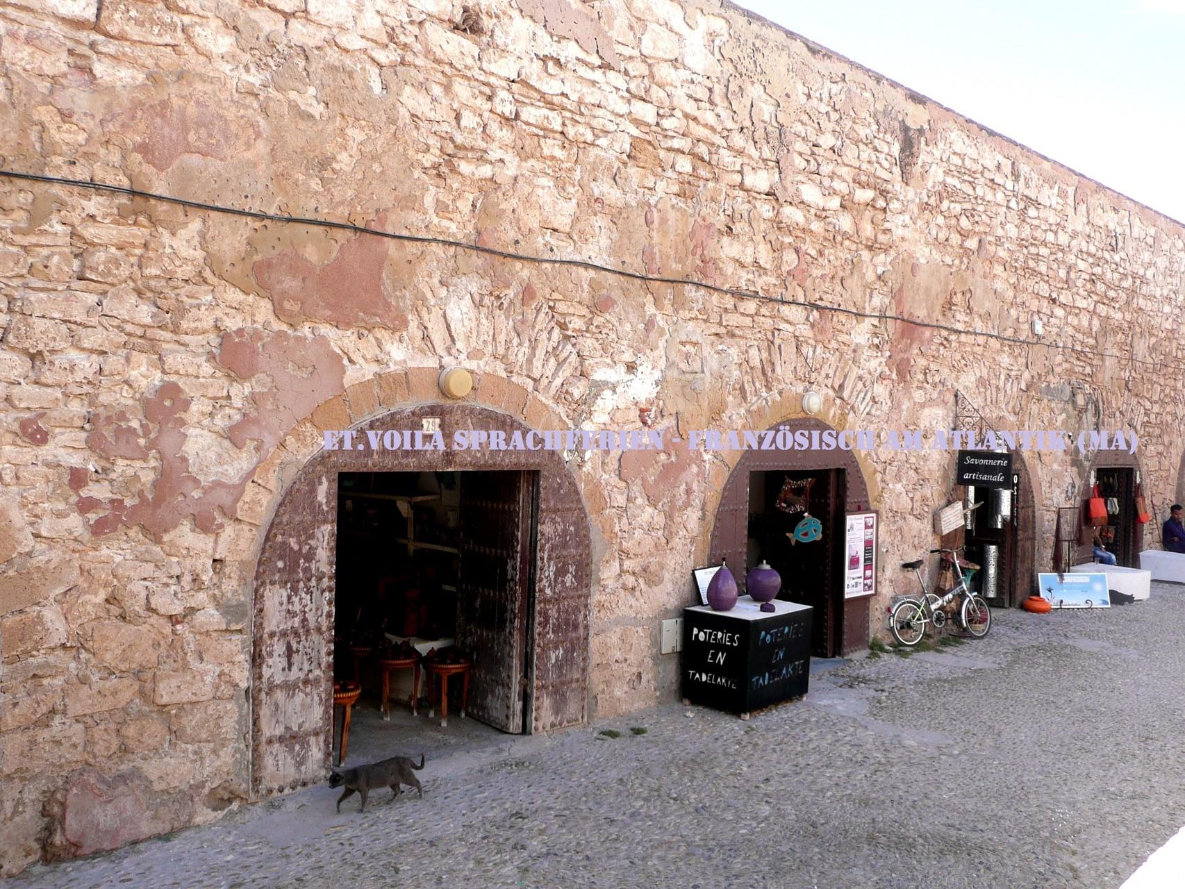 Essaouira, Scala de la Kasbah