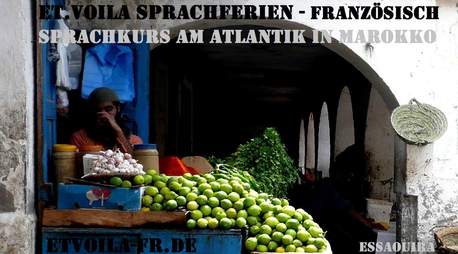 Eine Woche farbenfrohes Marokko: FRANZÖSISCH Sprachkurs + intensive Erholung in Essaouira am Atlantik