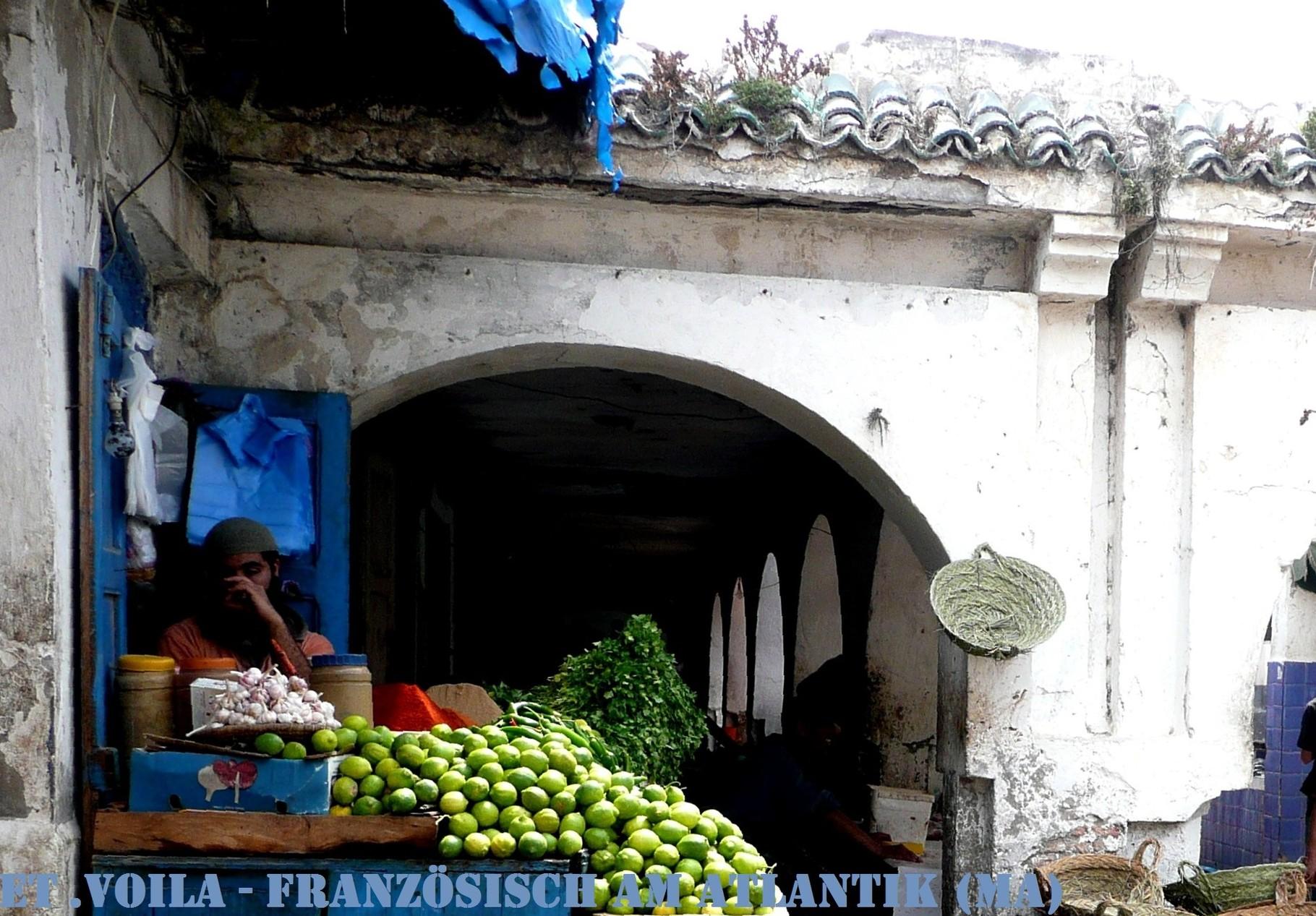 Essaouira, Fischmarkt in der Altstadt