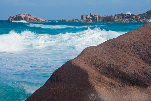 La Digue: Blick auf Manhattan - Grand Anse