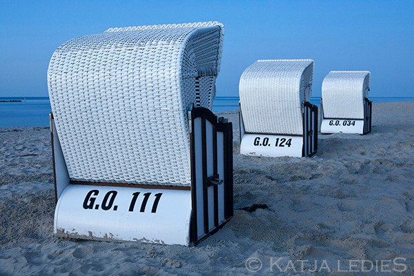 Rügen: Strandkorbe
