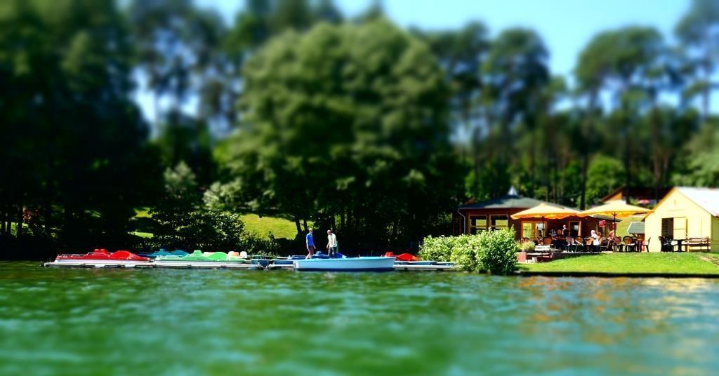 Boote mieten im Bootsverleih am Lübbesee in Templin in der Schorfheide, Uckermark in Brandenburg