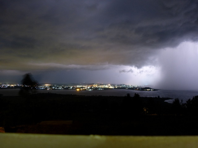 Storm over Jinja