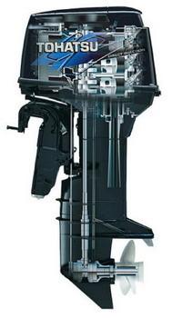 Руководство по ремонту лодочного мотора Tohatsu