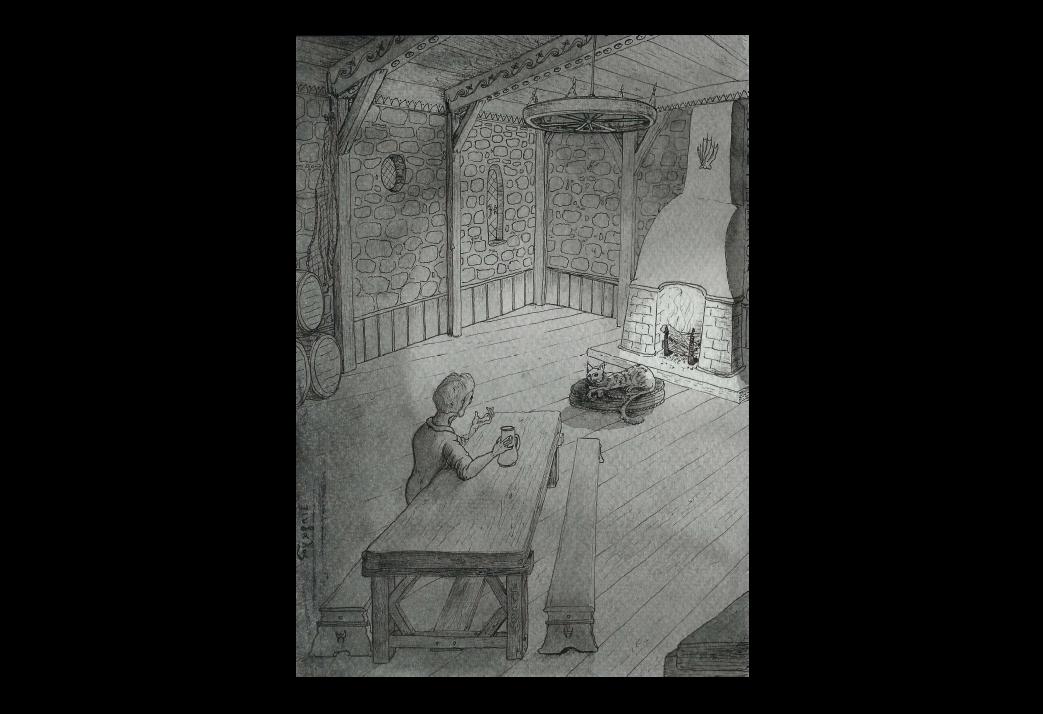 La Quête onirique de Kadath l'Inconnue (5/11) : À l'auberge de Thran