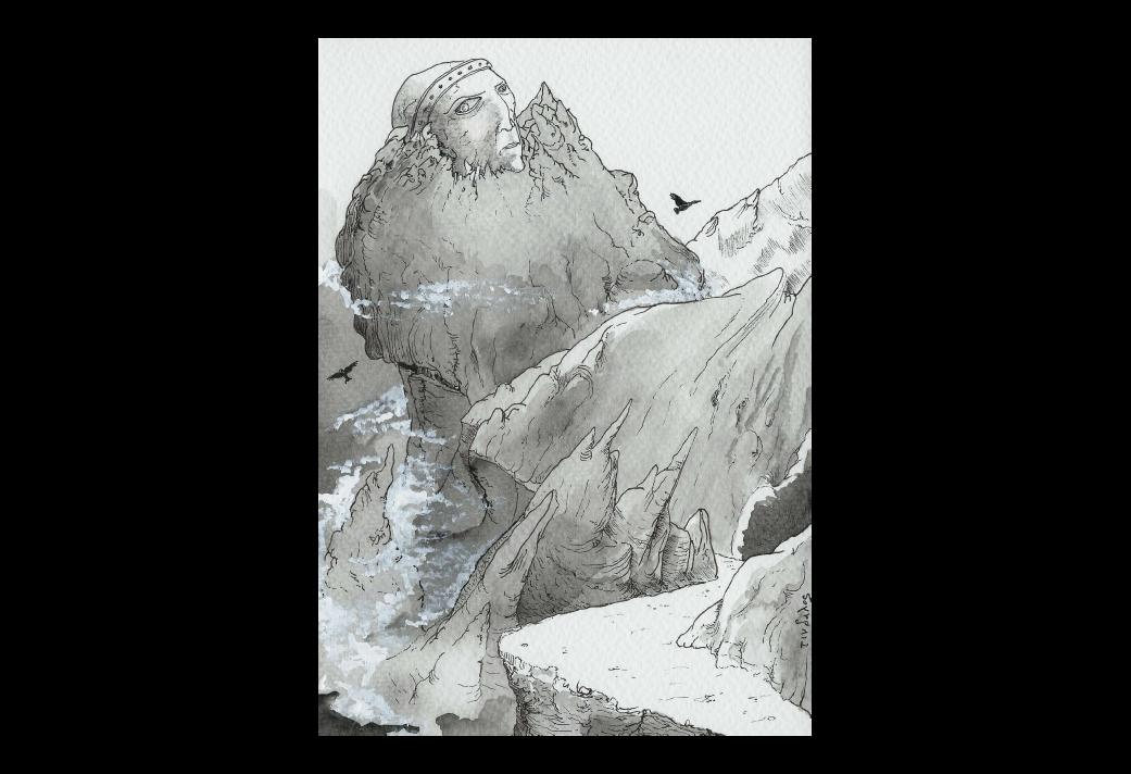 La Quête onirique de Kadath l'Inconnue (3/11) : Le mont Ngranek