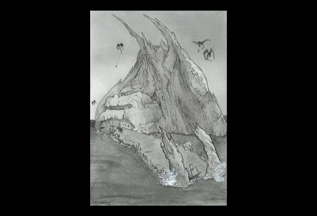 La Quête onirique de Kadath l'Inconnue (9/11) : L'attaque du rocher