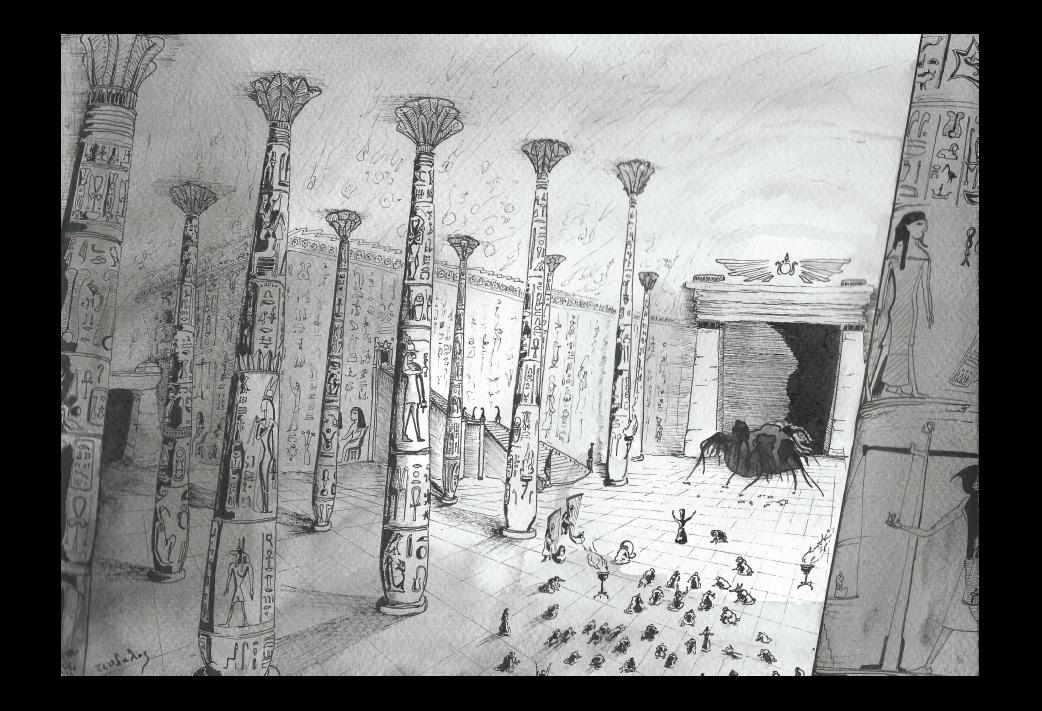 Prisonnier des Pharaons