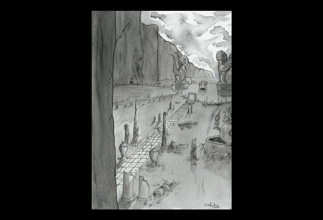 La Quête onirique de Kadath l'Inconnue (8/11) : Les ruines de Sarkomand