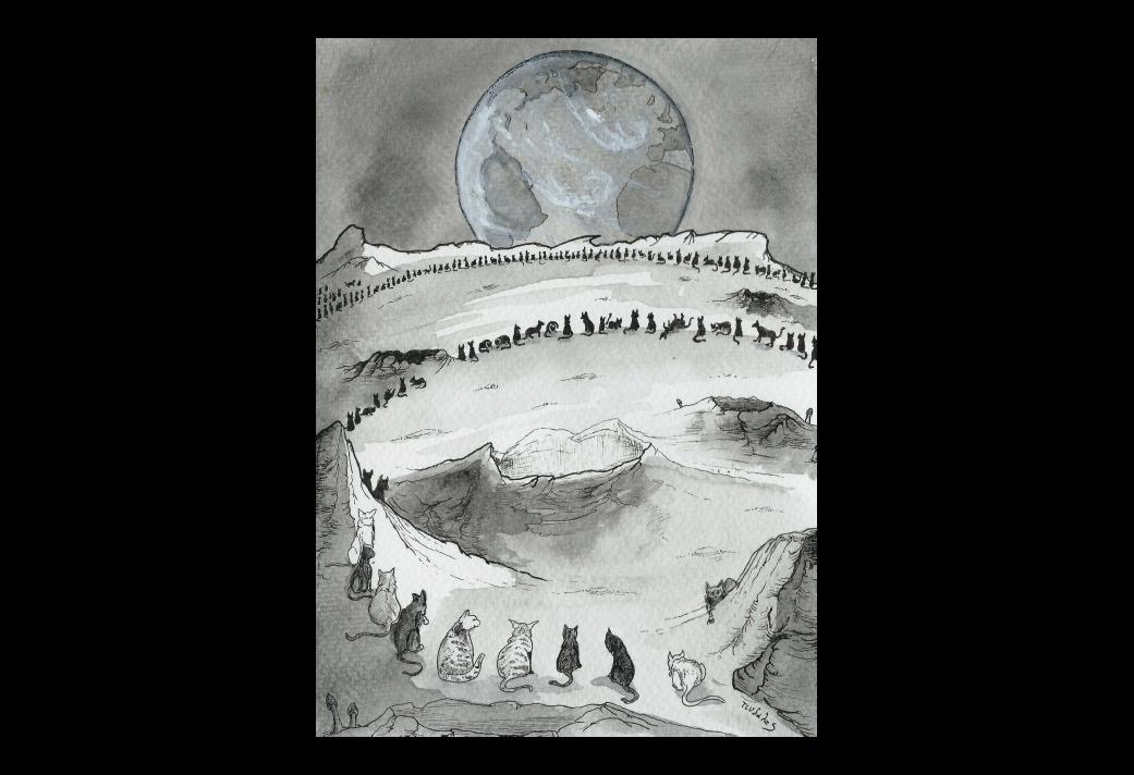 La Quête onirique de Kadath l'Inconnue (2/11) : Les Chats lunaires