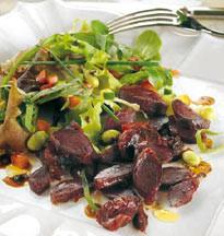 Salade aux gésiers