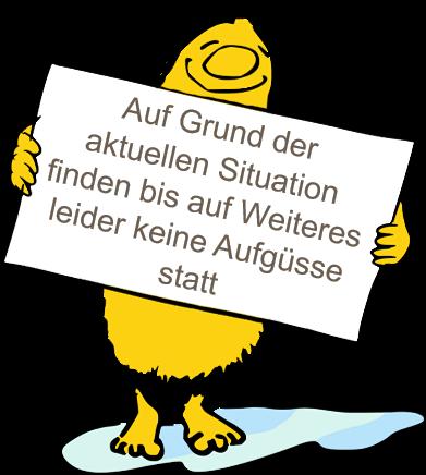Aufgussplan Saunagarten Estenfeld