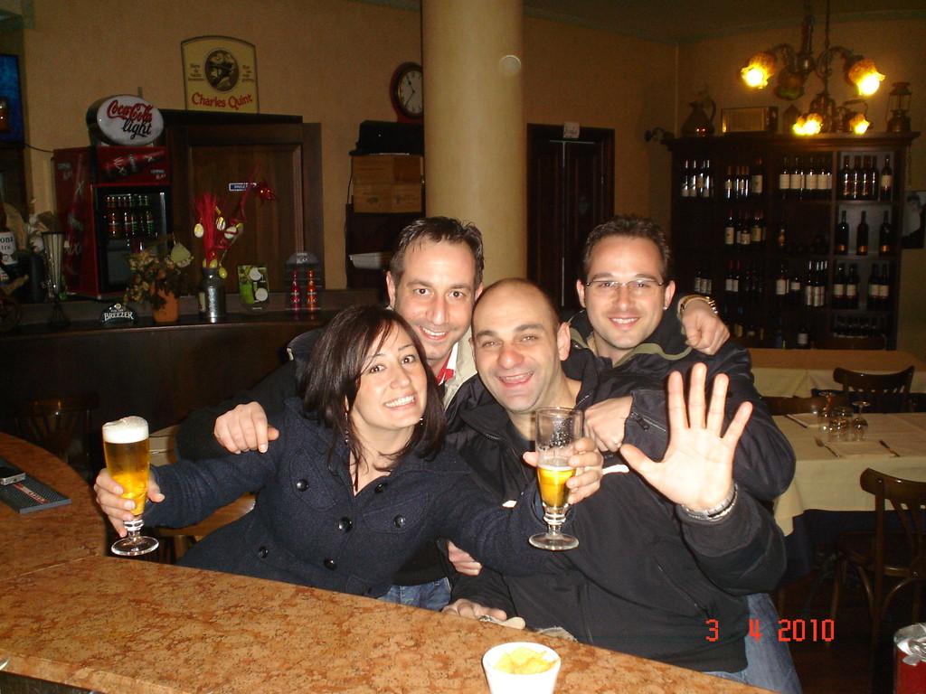 eravamo quattro amici al pub...