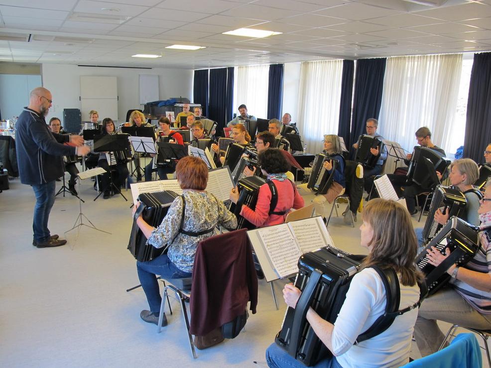 Probewochenende des 1. Orchesters