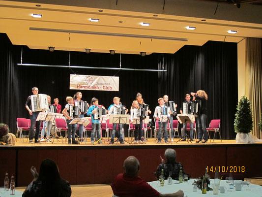 Unsere Jüngsten beim Familienkonzert