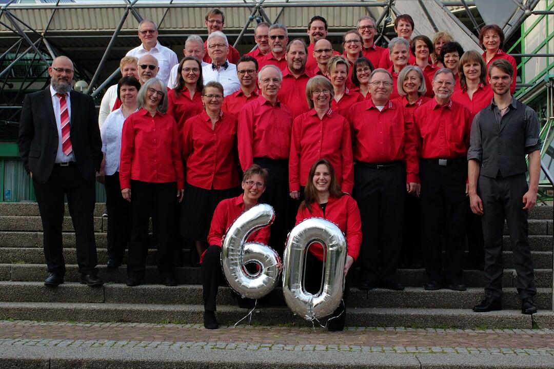 1.AO + Hobby-Orchester beim Jubiläums-Konzert