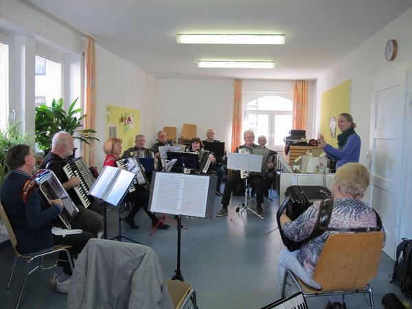 Probensamstag des Hobby-Orchesters