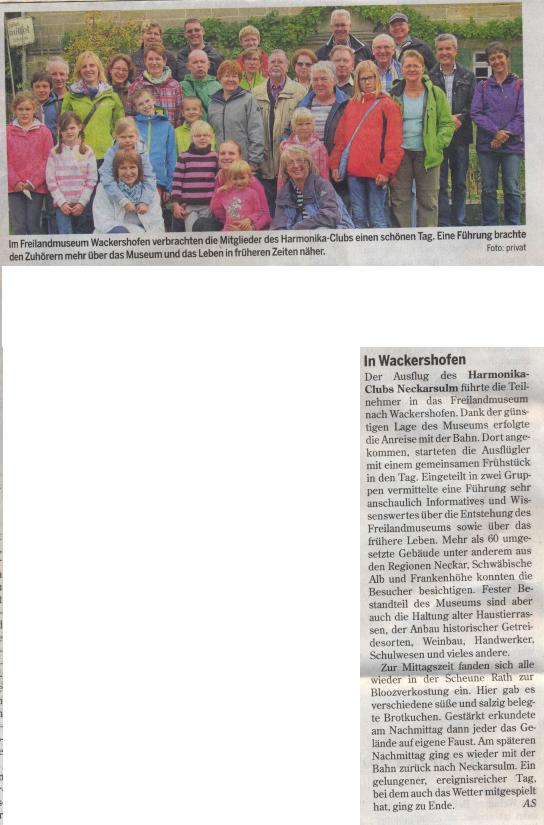 Heilbronner Stimme, September 2015