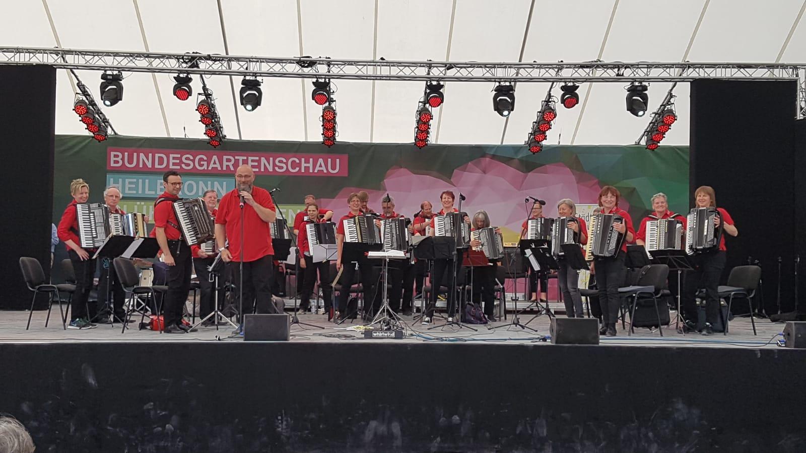 Neckarsulm-Tag bei der BuGa Heilbronn