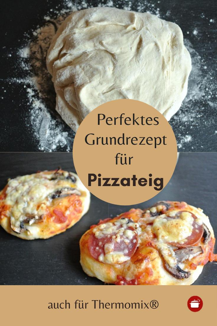 Grundrezept für Pizzateig - auch für Thermomix