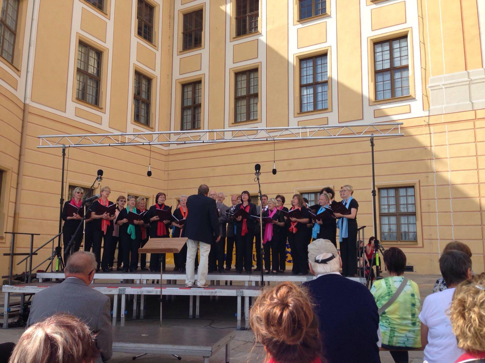12. Chorfest des Ostsächsischen Chorverbandes in Moritzburg
