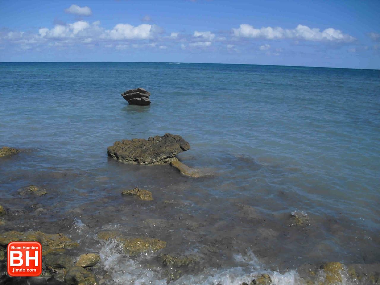 Vista de playa Punte piedra