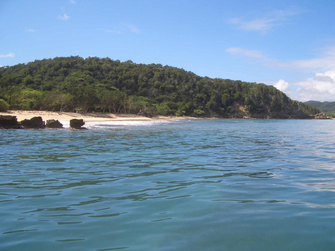 Vista de la playa El paisano
