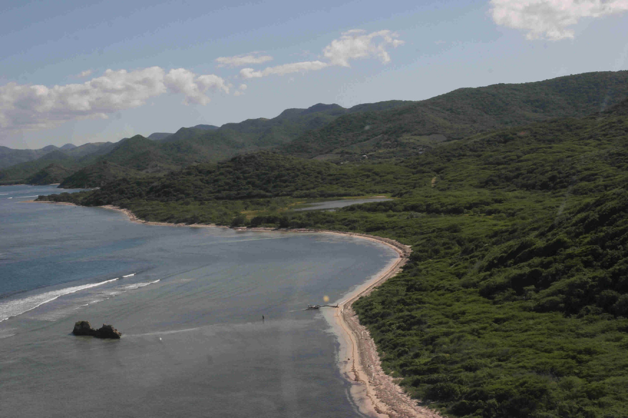 Vista de la playa Boca Vieja