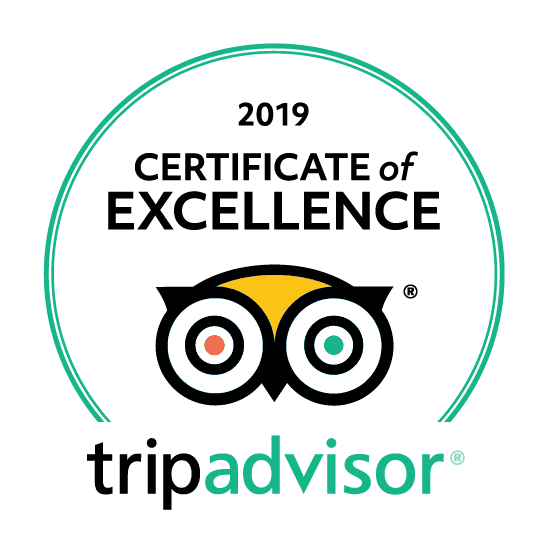 Certificate of Excellence 2019 Ourtaxi4you