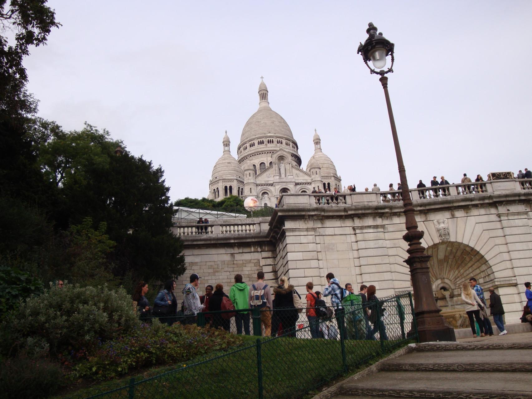 Freitag - Paris, Sacre Coeur