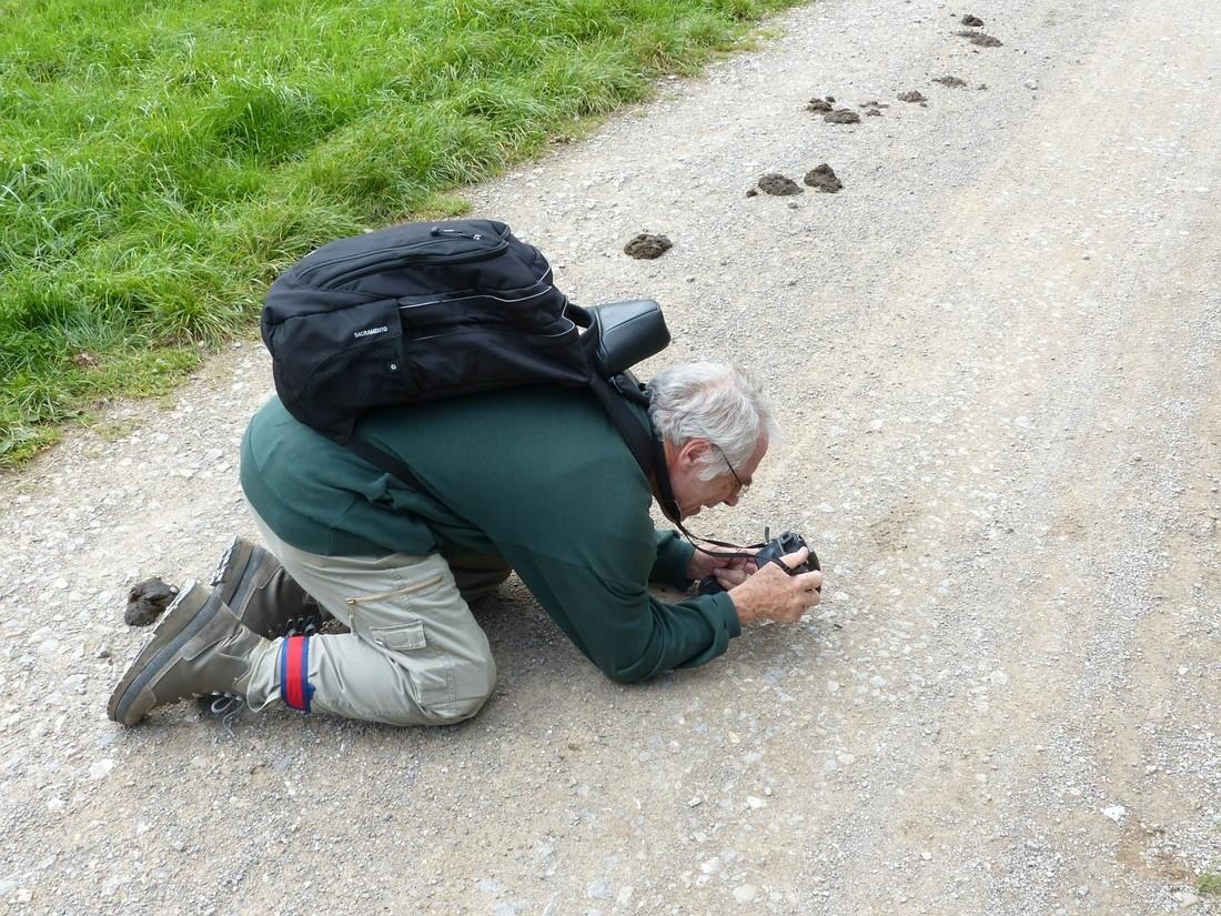 Wolfgang beim Fotografieren         © J. Siemers